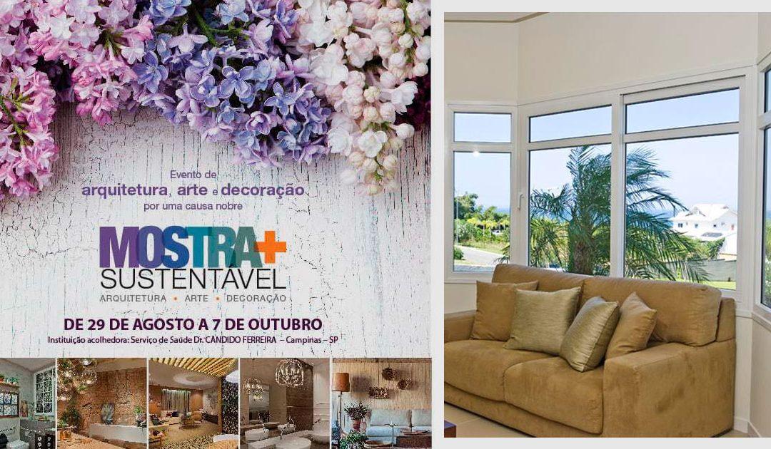 Quattor fornece esquadria para a Mostra+Sustentável 2018