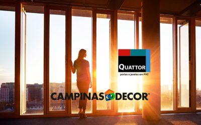 Quattor apresenta tendências em esquadrias de PVC na Campinas Decor